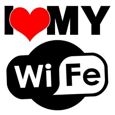 i love my WIFI